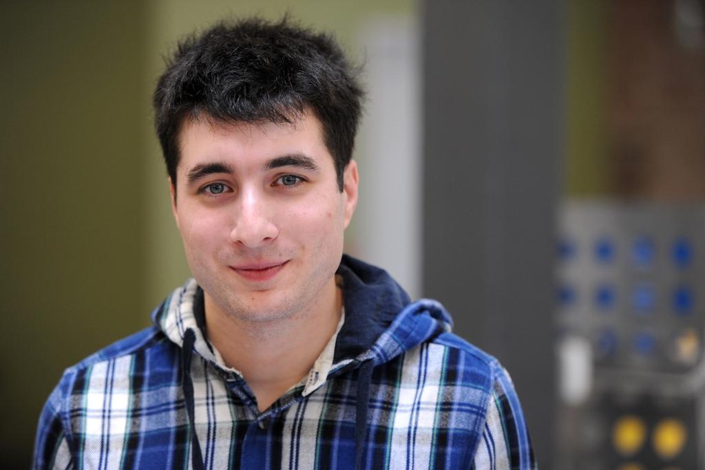 Wikimedia Foundation employee Oliver Keyes in March 2012.