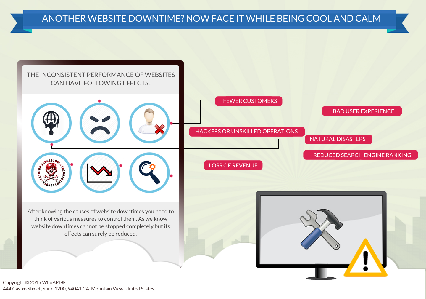Website downtime tips