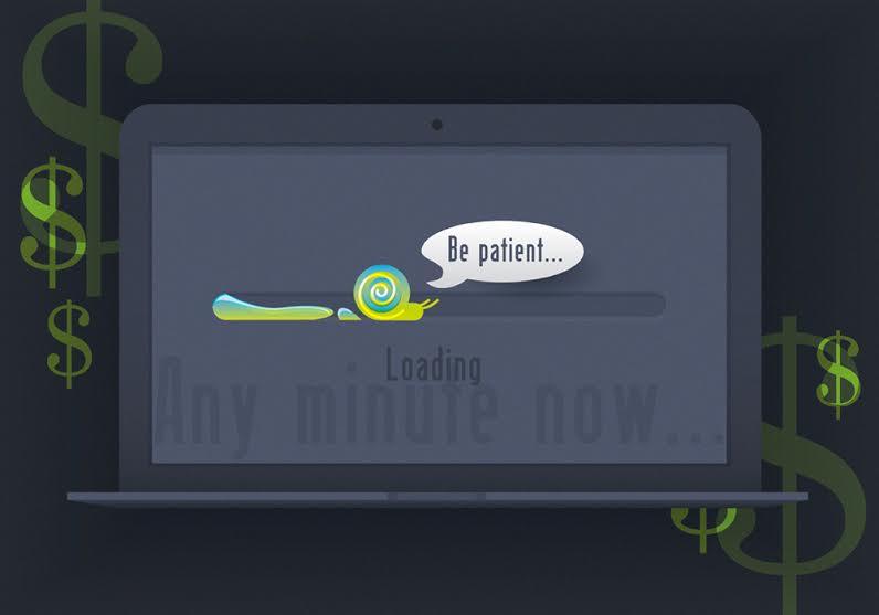 be patient slow hosting