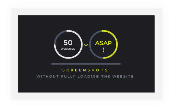 Take the website screenshot immediately, without waiting