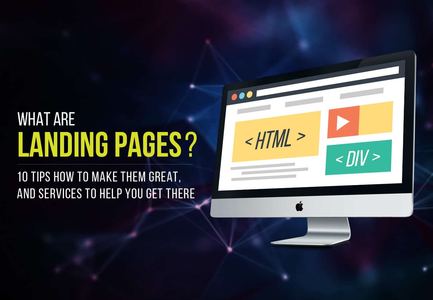 How to make great landing pages