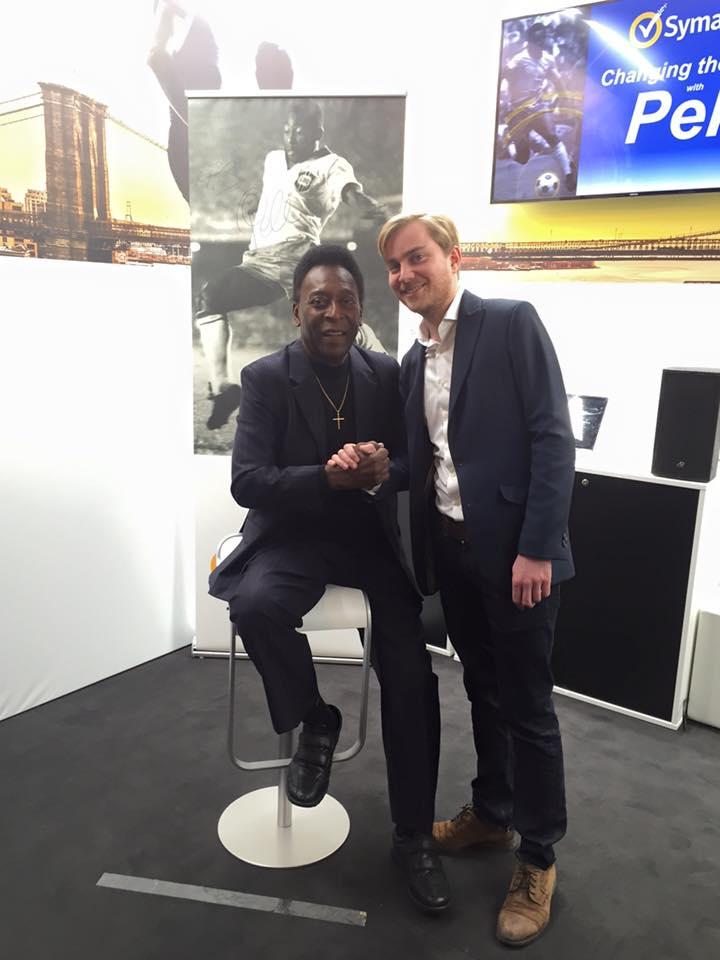 Pele and Christian Jaeger