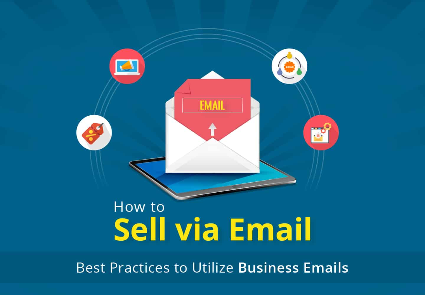 Sell via email - best practices