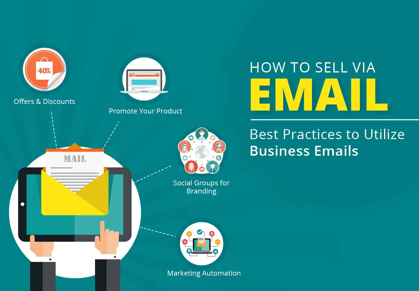 Tips on how to sell over email