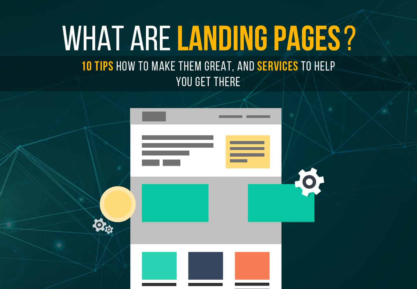 Tips on making great landing pages