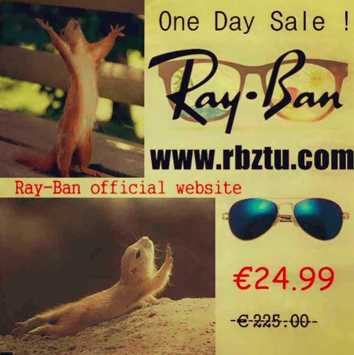 fake rayban photo on facebook